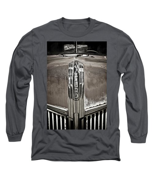 Ford Chrome Grille Long Sleeve T-Shirt by Marilyn Hunt