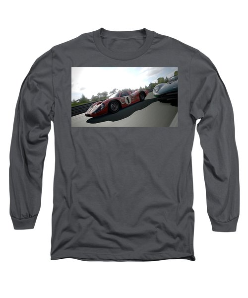Ford Gt40 Mark Iv Long Sleeve T-Shirt