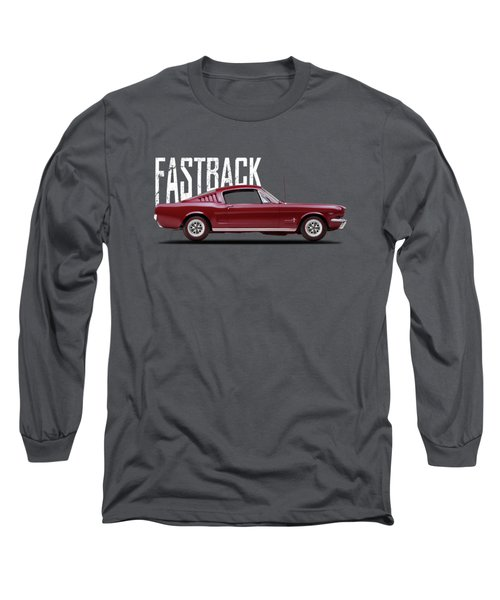 Ford Mustang Fastback 1965 Long Sleeve T-Shirt