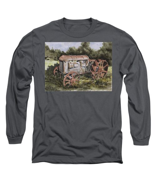 Fordson Model F Long Sleeve T-Shirt by Sam Sidders