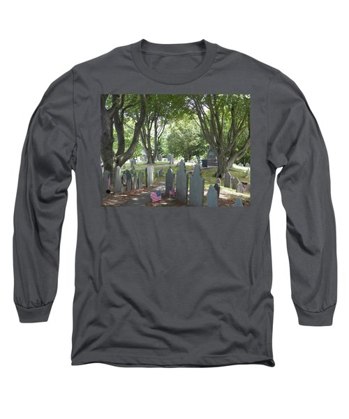 Forefathers' Cemetery Long Sleeve T-Shirt