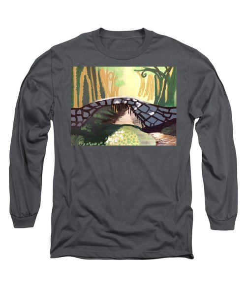 Forest Bridge Long Sleeve T-Shirt