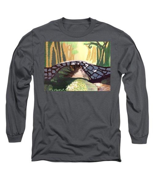 Forest Bridge Long Sleeve T-Shirt by Joshua Maddison