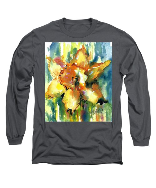 Forest Daffodil The Prayer Long Sleeve T-Shirt