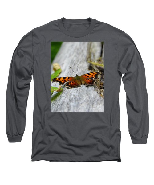 Forest Fritillary Long Sleeve T-Shirt by KD Johnson