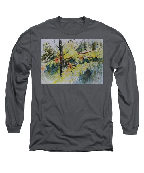Forest Giant Long Sleeve T-Shirt by Joanne Smoley