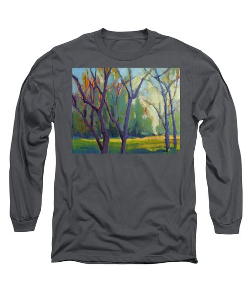 Forest In Spring Long Sleeve T-Shirt