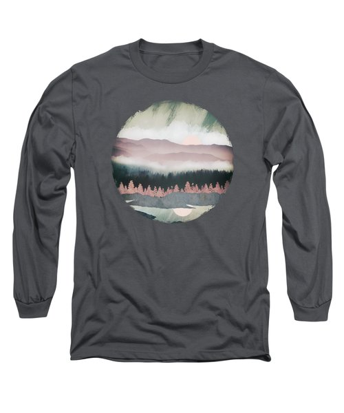 Forest Lake Evening Long Sleeve T-Shirt