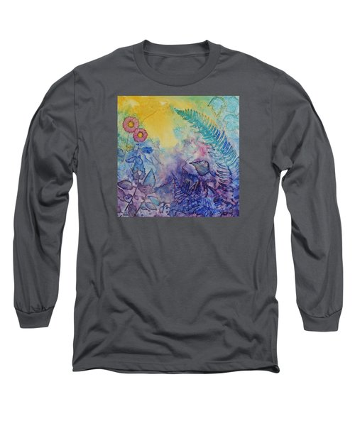 Forest Light Long Sleeve T-Shirt by Nancy Jolley