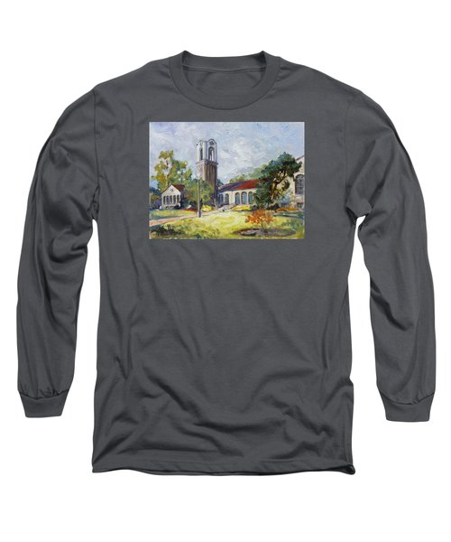 Forest Park Center - St. Louis Long Sleeve T-Shirt by Irek Szelag