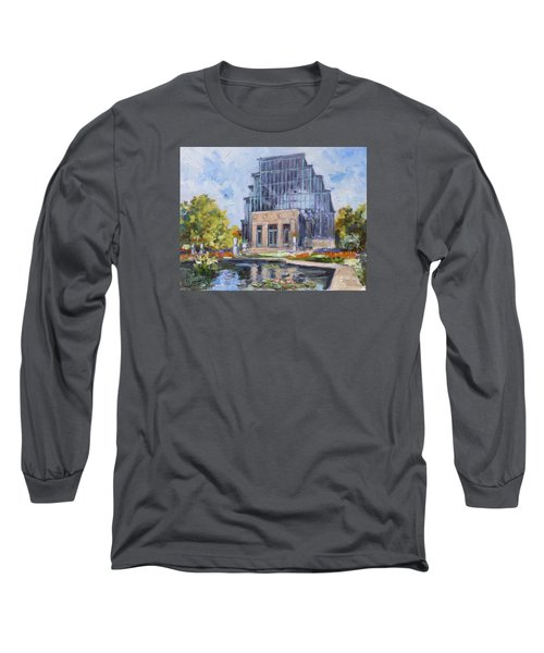 Forest Park - Jewel Box Saint Louis Long Sleeve T-Shirt by Irek Szelag