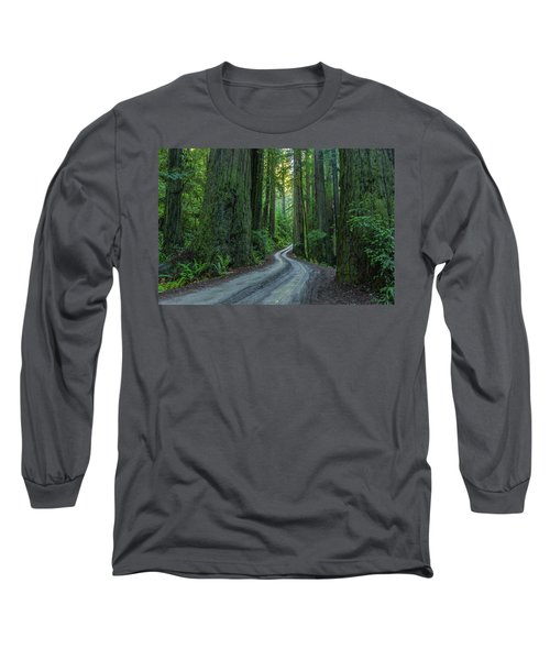 Forest Road. Long Sleeve T-Shirt
