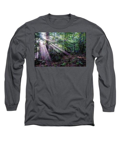 Forest Sunbeams Long Sleeve T-Shirt