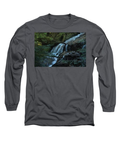 Forest Waterfall. Long Sleeve T-Shirt