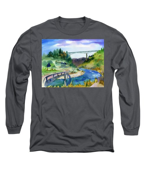 Foresthill Bridge #2 Long Sleeve T-Shirt
