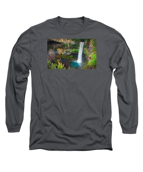 Brandywine Falls, Bc Long Sleeve T-Shirt by Heather Vopni