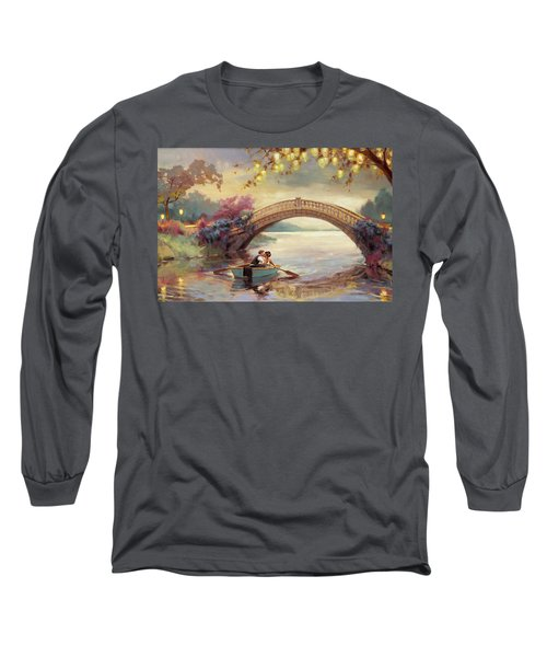 Long Sleeve T-Shirt featuring the painting Forever Yours by Steve Henderson
