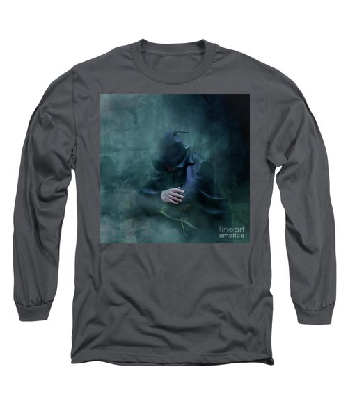Forgetting  Long Sleeve T-Shirt by Agnieszka Mlicka