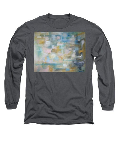 Long Sleeve T-Shirt featuring the painting Forgetting The Past by Raymond Doward