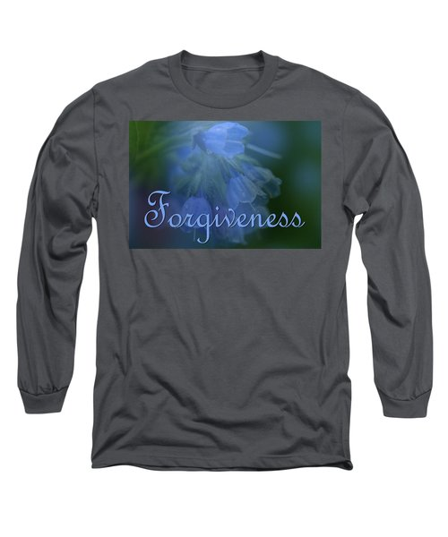 Forgiveness Blue Bells Long Sleeve T-Shirt