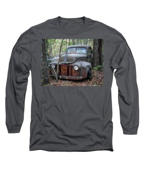 Forgotten Long Sleeve T-Shirt by Patrice Zinck