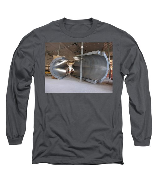 Formwork Long Sleeve T-Shirt by Steve Sahm