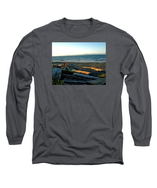 Fort Driftwood - Vancouver Island - Bc Long Sleeve T-Shirt