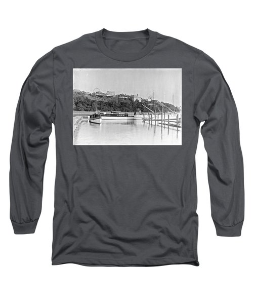 Long Sleeve T-Shirt featuring the photograph Fort George Amusement Park by Cole Thompson