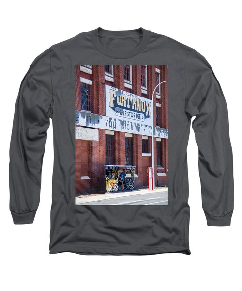 Long Sleeve T-Shirt featuring the photograph Fort Knox by Serene Maisey
