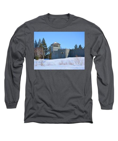Fort Michilimackinac Northeast Blockhouse Long Sleeve T-Shirt