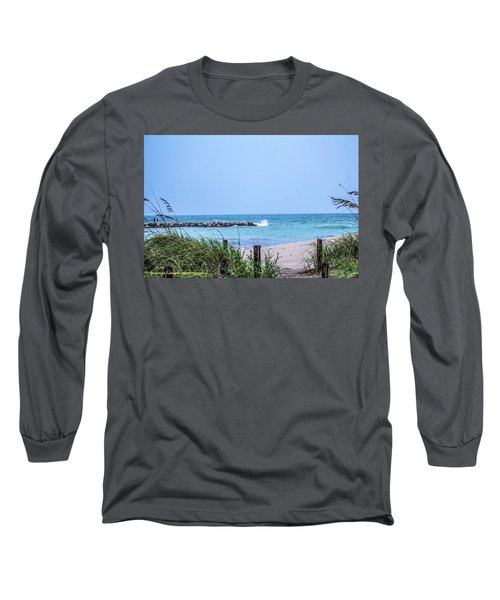 Fort Pierce Inlet Long Sleeve T-Shirt