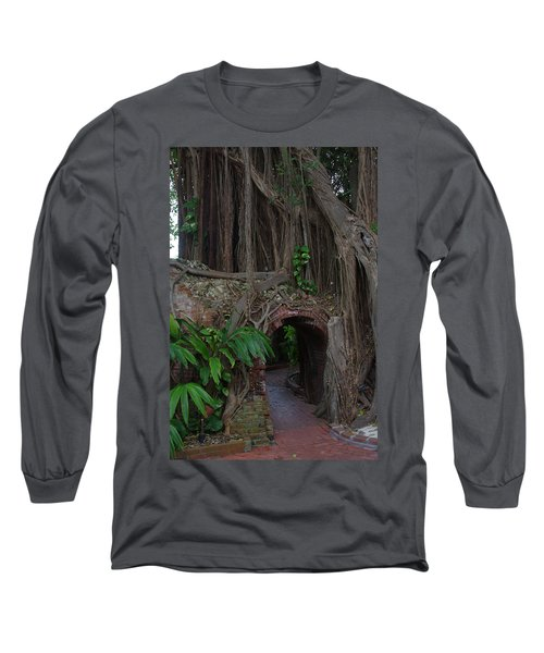 Long Sleeve T-Shirt featuring the photograph Fort West Martello by Greg Graham