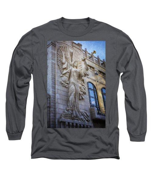 Fort Worth Impressions Bass Hall Angel Long Sleeve T-Shirt