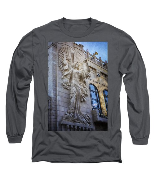 Fort Worth Impressions Bass Hall Angel Long Sleeve T-Shirt