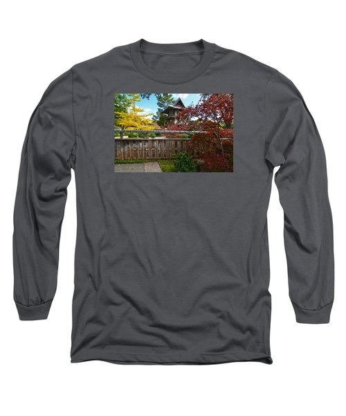 Fort Worth Japanese Gardens 2771a Long Sleeve T-Shirt by Ricardo J Ruiz de Porras