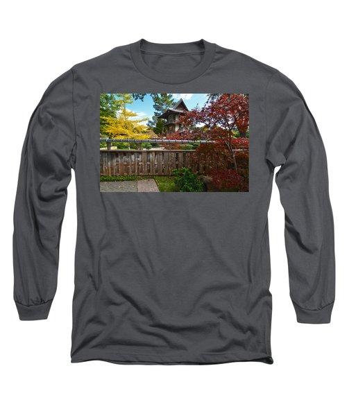 Fort Worth Japanese Gardens 2771a Long Sleeve T-Shirt