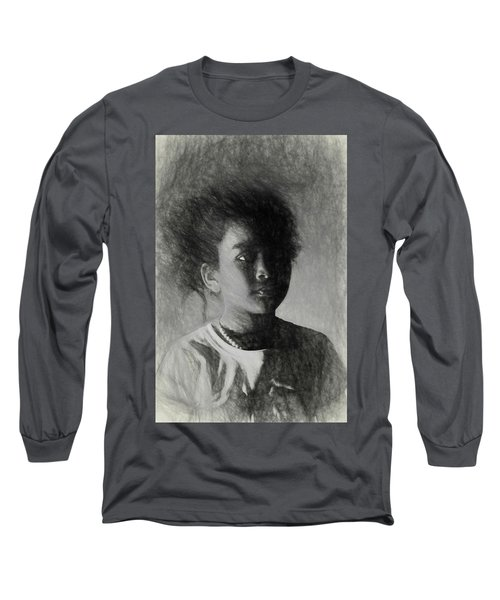 Forward Thinking Long Sleeve T-Shirt by Terry Cork