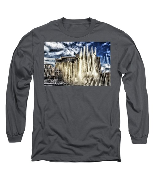 Long Sleeve T-Shirt featuring the photograph Fountain Of Love by Michael Rogers