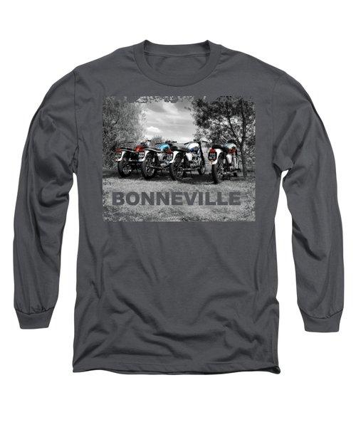 Four Bonnevilles Long Sleeve T-Shirt
