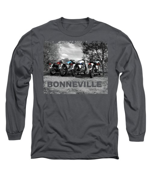 Four Bonnevilles Long Sleeve T-Shirt