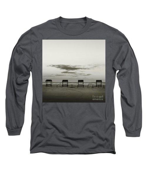 Four On The Beach Long Sleeve T-Shirt