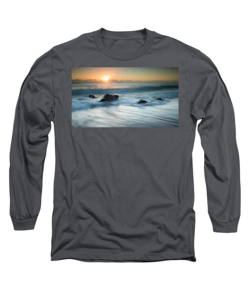 Four Rocks Long Sleeve T-Shirt by Brad Grove