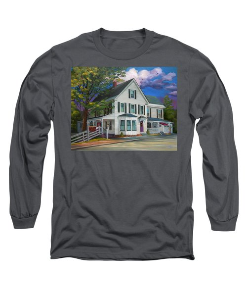 Fournier Funeral Home Long Sleeve T-Shirt by Nancy Griswold