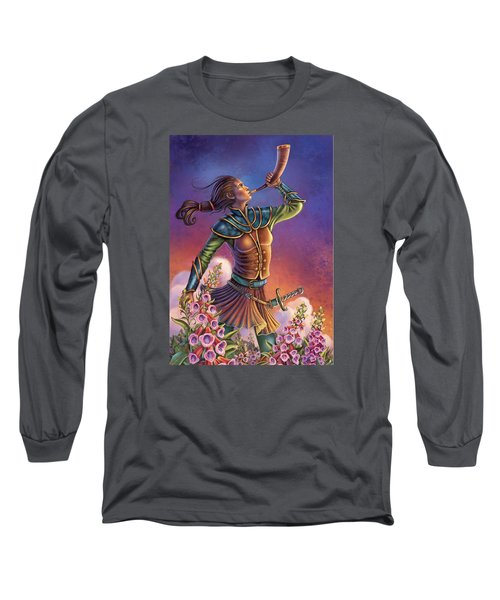 Foxglove - Summon Your Courage Long Sleeve T-Shirt