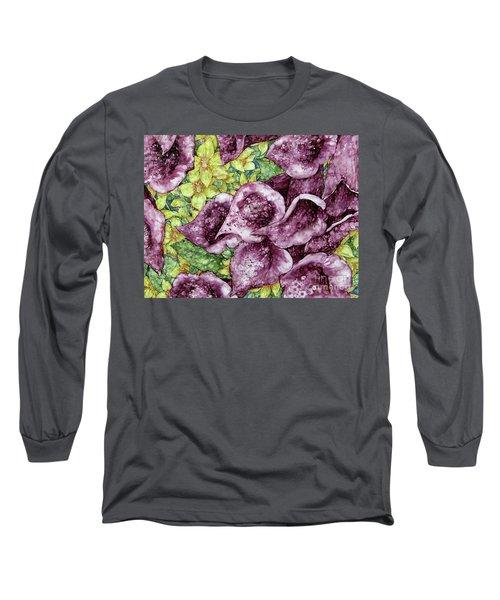Foxgloves Long Sleeve T-Shirt