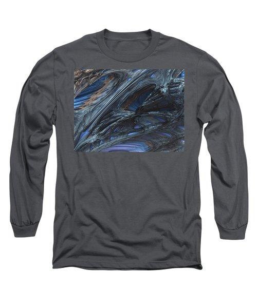 Fractal Structure 002 Long Sleeve T-Shirt