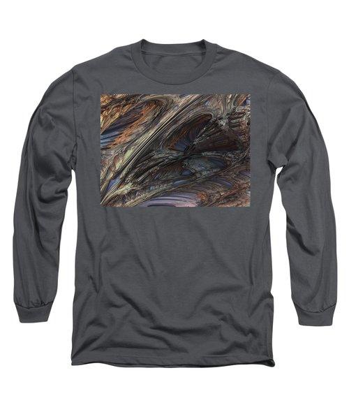 Fractal Structure 005 Long Sleeve T-Shirt