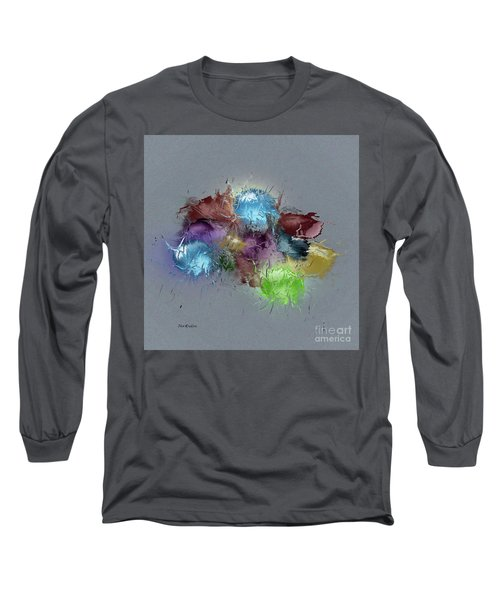 Fractured Bouqet 1 Pc Long Sleeve T-Shirt