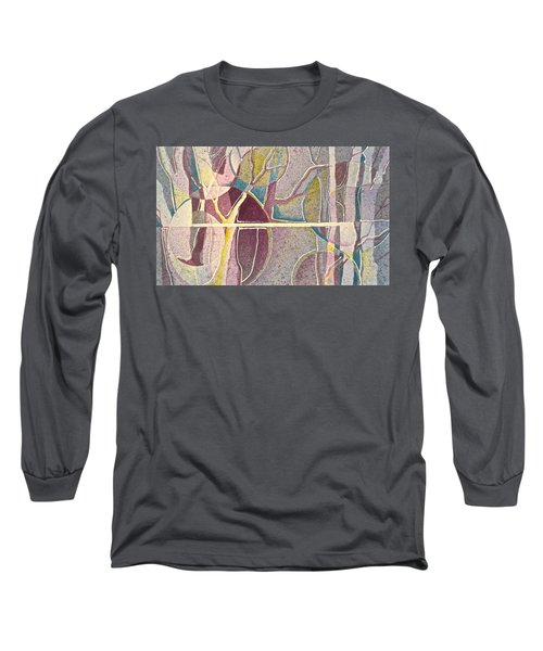 Fractured Long Sleeve T-Shirt