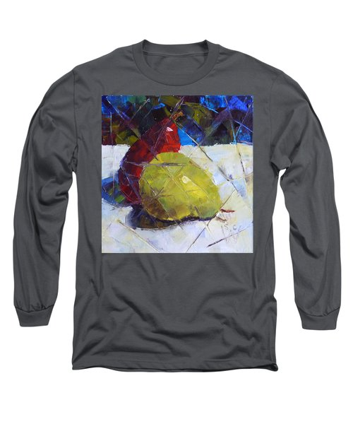 Fractured Pears Long Sleeve T-Shirt by Susan Woodward